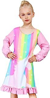 女童抓绒睡衣独角兽公主睡衣睡衣睡衣