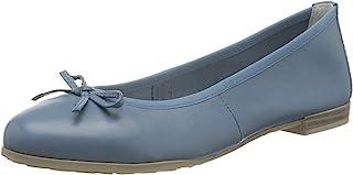 MARCO TOZZI 女式 2-2-22100-34 芭蕾平底鞋