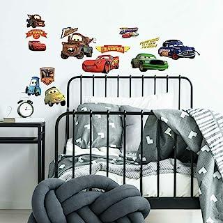 Roommk1520Scs 迪士尼皮克斯汽车活塞杯 剥粘墙贴