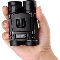 IMAISEN 成人用10x22高倍双筒望远镜 | 小型,紧凑,轻巧,具有弱光夜视功能 | 非常适合户外,观鸟,体育,游…
