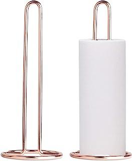 STRAWBLEAG 2 件纸巾架,自由立式厨房毛巾架,台面纸巾卷收纳架,厨房台面浴室