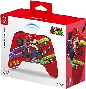 HORI 无线控制器(*马里奥)适用于 Nintendo 任天堂 Switch [