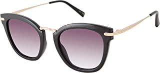 Vince Camuto Vc898 防紫外线猫眼金属细节太阳镜 | 四季 | 独特风格,60 毫米