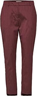 精选女士 Slfamila Mw 长裤 Deca Choco Pin B 长裤