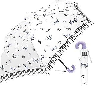 Clax 折叠伞 儿童用 MAGICAL MUSIC 白色 50厘米 31508
