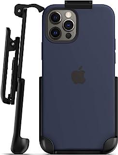 Encased 苹果硅胶手机壳皮带夹,带 MagSafe 兼容iPhone 12 和 iPhone 12 Pro(仅皮套-不包括手机壳)