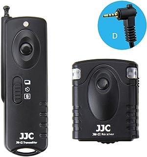 JJC JM-D(II) 无线快门释放,适用于松下 G5 GH4 GX7 GH3 FZ200 FZ150 G3 V-LUX2 G2(黑色)