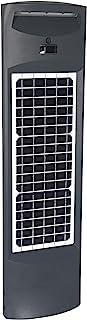 Gama Sonic 太阳光柱商业现代路桩,暖白色,灰色 (9iD50800)