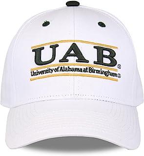 NCAA 阿拉巴马大学伯明翰夹克队中性款 NCAA 比赛吧设计帽,白色,可调节