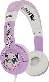 OTL Technologies PK0568 JUNIOR 耳机口袋妖怪拉链耳机粉色/白色
