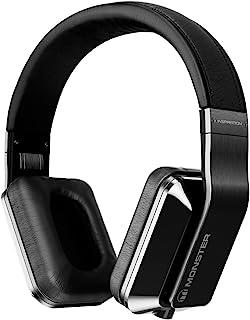 Monster Inspiration 钛头戴式耳机带主动降噪和可换头带 黑色