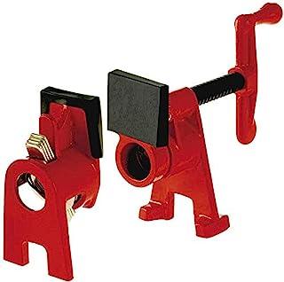 Bessey BPC-H34 H 型管夹,红色,3/4 英寸(约7.62/10.16厘米)