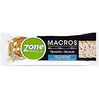 ZonePerfect Macros Protein Bars, White Chocolate Peanut Butt…