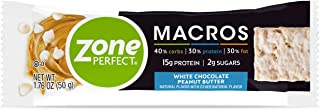 Zone Perfect Macross 蛋白棒 20 Count (Pack of 1)