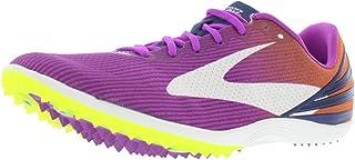 Brooks 女式 Mach 17 Spike Track 越野跑鞋