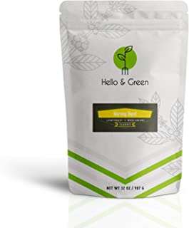 Hello & Green Whole Bean Coffee Light Roast 2 Lb