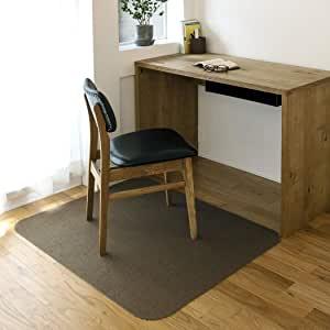NIKON (Nico) 不易移位椅垫 桌垫 防滑 90×110cm 棕色 90×110×0.4cm KR-03