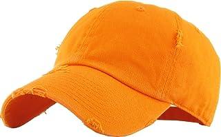 KBETHOS 复古水洗做旧棉质爸帽棒球帽可调节马球卡车司机中性款头饰