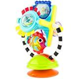 Sassy Fishy 魅力站台2合1吸盘高脚椅玩具|用于早期学习的托盘玩具|适用于6个月及以上的儿童