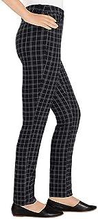 Hilary Radley 女式格子西裤