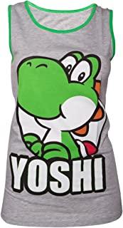 Nintendo 红色蘑菇背心(女士) - XL- 灰色