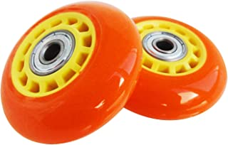 Rangs Japan(RANGS) Ripstick 豪华迷你 原装更换用 轮子 2件装 橙色/黄色