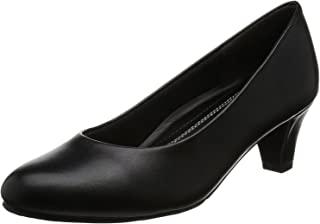 [罗密欧华伦天奴] 浅口鞋 圆头 鞋跟5cm 足围3E PU皮革 VB2301