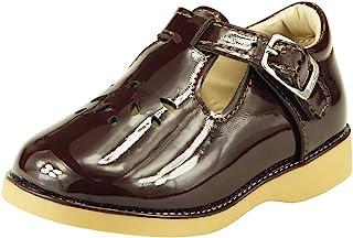 The Doll Maker 女童玛丽珍平底鞋,适合幼儿/小童学校礼服鞋