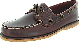 Timberland 男士經典牛津布兩眼船鞋