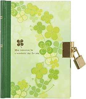MIDORI 日记 带钥匙 三叶草图案