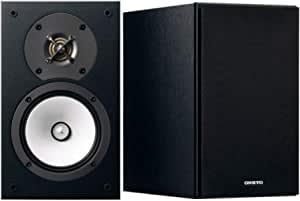 Onkyo 欧式电子 D-165-B 双向低音反射-扬声器,N-OMF 膜,30 毫米高音黑色