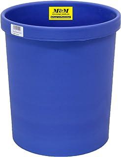 Metzger & Mendle 回收篮 18 升,难燃 蓝色