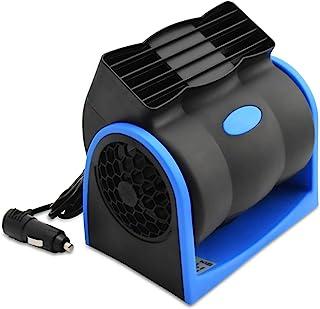 12V 汽车风扇,YOUGUOM 汽车房车风扇强力通风电动汽车风扇带点烟器插头适用于汽车汽车 SUV