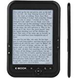 6 英寸(约 15.2 厘米)便携式电子纸 800 x 600 分辨率 + 音频播放器 电子阅读器 带电子墨水屏幕 29…