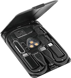 CARD KableCARD 卡片尺寸 多功能工具 充电线 无线充电 SIM收纳 智能手机支架 TYPE-C USB-C 黑色 KC7-JB