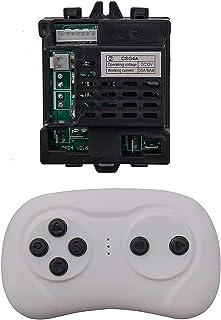 CSG4A 12V 儿童电动骑车 2.4G 蓝牙遥控器和接收器套件 控制器控制箱配件 儿童电动骑车替换部件