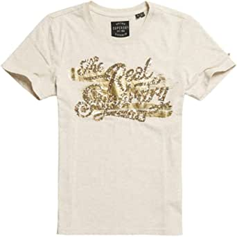 Superdry The Real Foil Sequin Entry 女士T恤