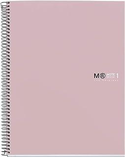 MIQUELRIUS – *毒笔记本 – 精装超硬纸板*超硬封面,A5,80张水平横格90克,2个钻孔,沙色
