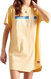 Superdry 极度干燥 女士 Cali Surf 插肩 T 恤连衣裙