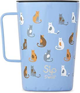S'well Takeaway 马克杯 Purrfect Morning 15oz 21415-B19-23540