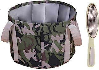 可折叠足浴盆,便携式旅行足浴盆,浸泡脚多功能防水可折叠桶,适合露营清洗