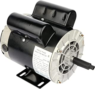 Cuilvu 2HP 电动机 3450RPM,单相,56 框架,115V/230V,5/8 轴直径轧钢壳空气压缩机 60HZ