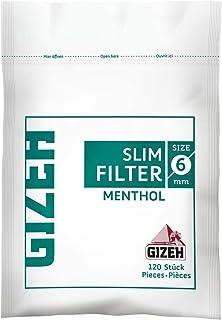 Gizeh Slim Filter 6 mm 薄荷醇 - 10 个包