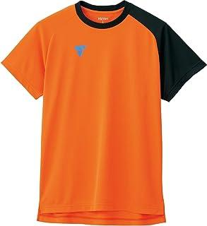 VICTAS 乒乓球 练习用 衬衫 V-NTS204 橙色 M 033462