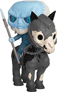 Funko POP! Rides:權力的游戲 - 夜光白行車和馬,亞馬遜*發售