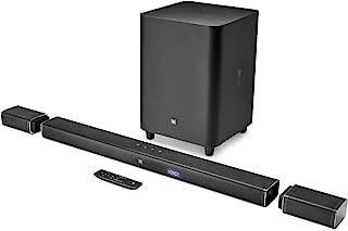 JBL Bar 5.1 4K声道超高清条形音箱,具有真正无线环绕声扬声器