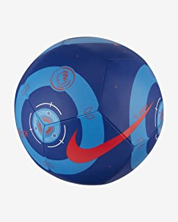 Nike Premier League Pitch Ball CQ7151-420;中性足球;CQ7151-420_4;蓝色;4 欧码(英国)