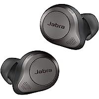 Jabra 捷波朗 Elite 85t 真无线耳机 - 捷波朗高级主动降噪 带长电池寿命和强大的扬声器 - 无线充电盒…