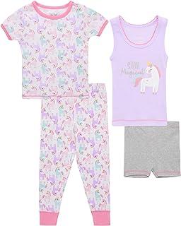 Rene Rofe 女婴睡衣 - T 恤、背心、短裤和慢跑裤(婴儿/幼儿)