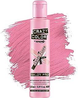 Crazy Color *剂 - 纯植物和无残忍的半永久*剂 - 用于预亮或金发的临时* - 无需过氧化物或显影剂(糖果蓬松)